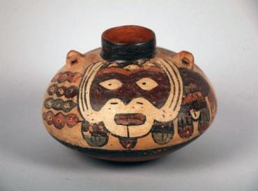 Nazca vessel from Peru