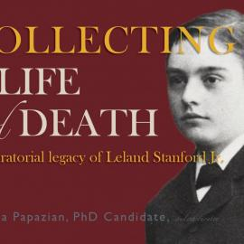 Exhibit poster - Collecting in Life and Death