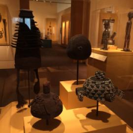Africa gallery at the Cantor Center (photograph by C. J. Hodge)